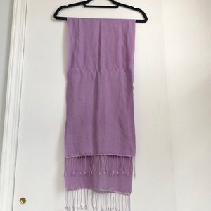 Accessories - Purple Pashmina Style Scarf